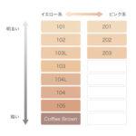 パーソナルカラー16タイプ別コスメ総合サイト「Color Catch」-RMKリクイドファンデーション101